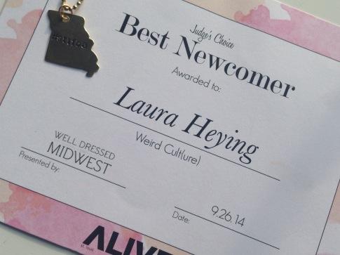 Best Newcomer Award