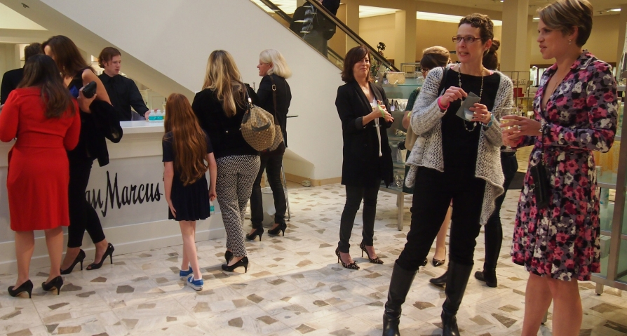 Event Goers at Neiman Marcus