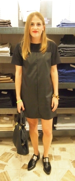 Dress- Pixie Market, Shoes- Topshop, Bag- H&M, Bracelet- Lily Dawson