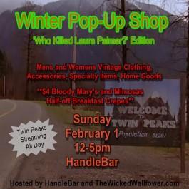 Winter Pop Up Shop- Don't miss it!