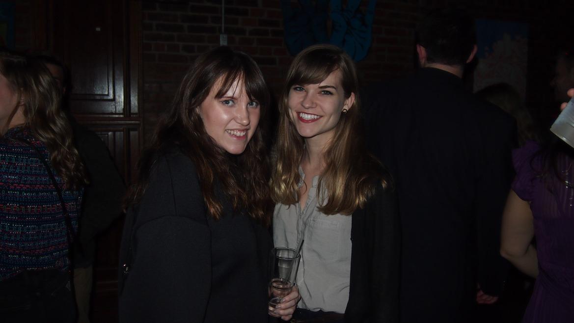 Ashley Jemes and Sarah Downen