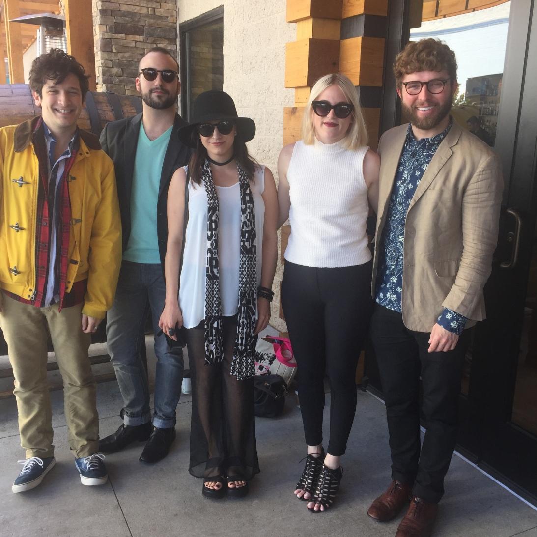 Jeff, Robby, Marisa, WC, Timo