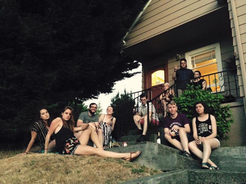 The crew in Olympia