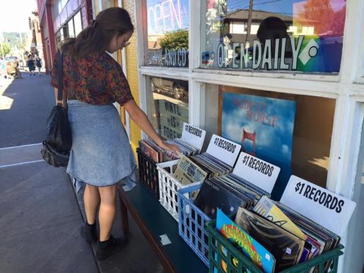 Record shop on Hawthorne