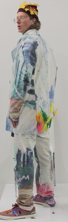 Nina Ganci- DJ Kennedy , artists owned painting