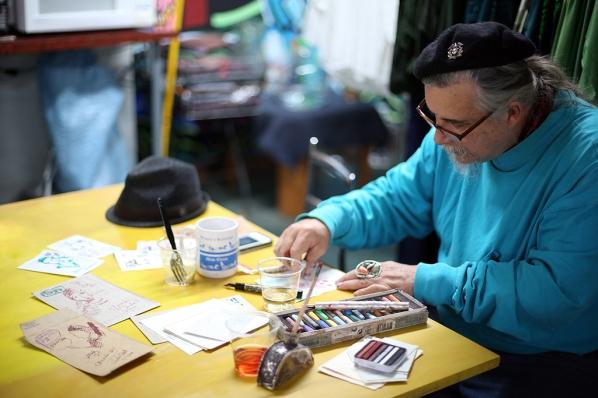 DJ creating at SKIF